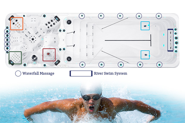 Vitality Deep Swimspa